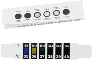 Migliori termometri frontali a lettura rapida (cerotti)